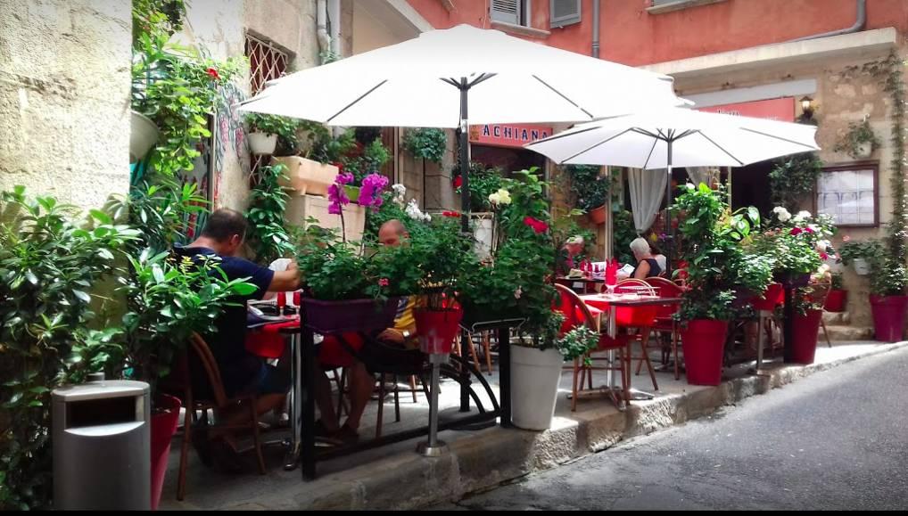terrasse restaurant achiana