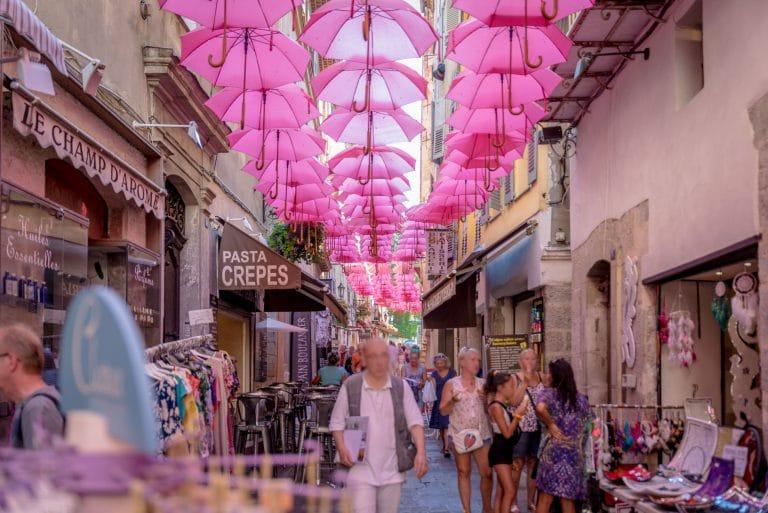 rue jean ossola Grasse centre historique